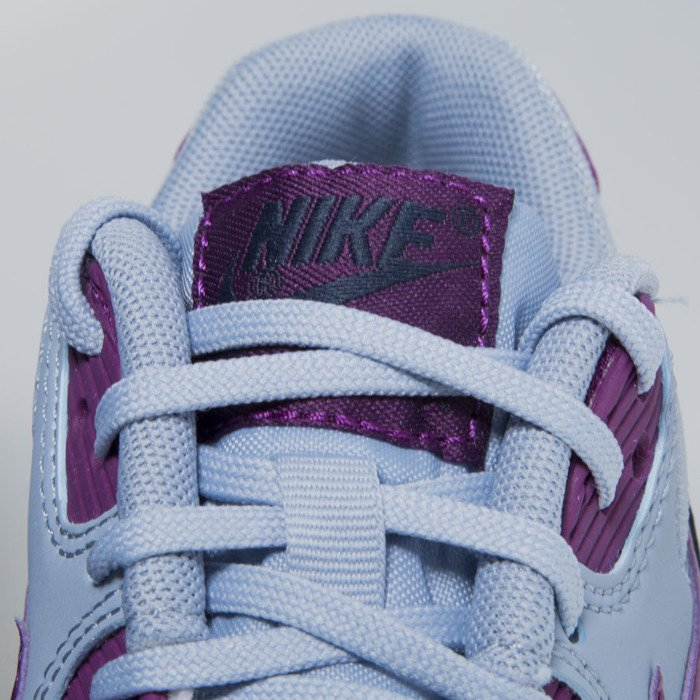 best website e7bd7 b198b ... Sneakers buty Nike WMNS Air Max 90 Essential blue grey   bright grape  616730-403 ...