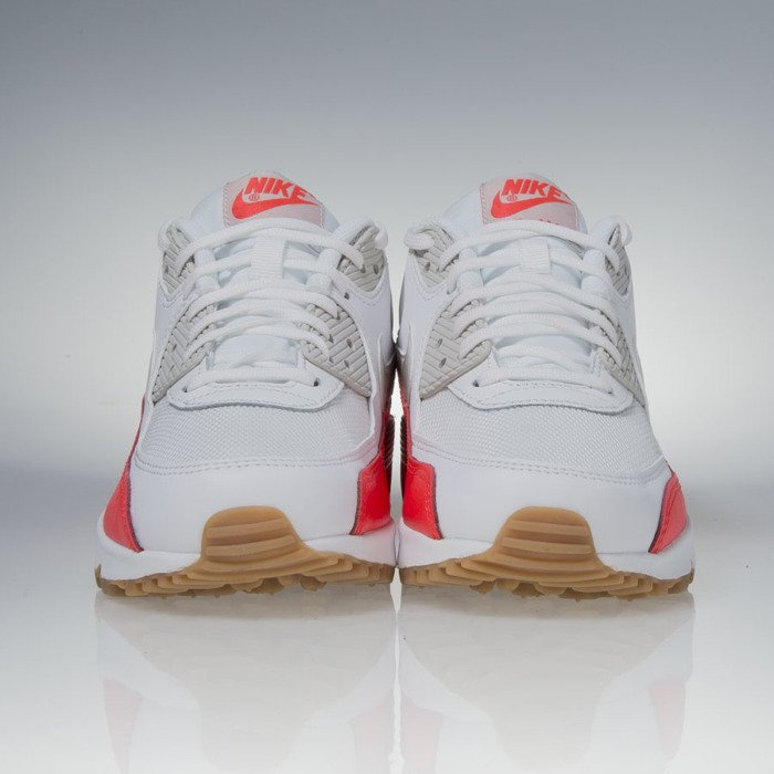 04a5a140f8 Sneakers buty Nike WMNS Air Max 90 Essential white / light brown crimson  (616730-113) | Bludshop.com