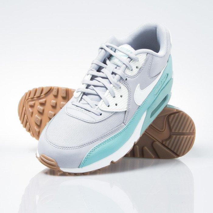 Nike Wmns Air Max 90 Essential Wolf Grey Ghost Green Dark Grey White | Footshop