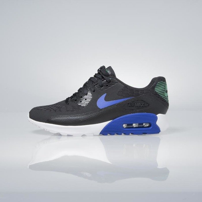 Sneakers buty Nike WMNS Air Max 90 Ultra 2.0 black paramount blue white 881106 001