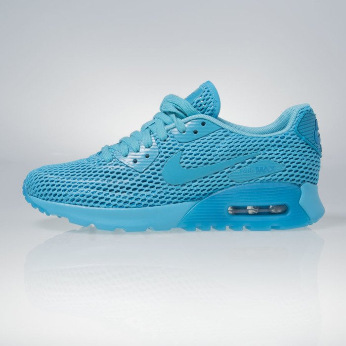 Sneakers buty Nike WMNS Air Max 90 Ultra BR gamma blue blue lagoon (725061 401)