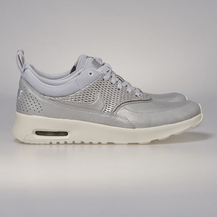 Nike Wmns Air Max Thea Premium Leather Shoes Grey 904500 004