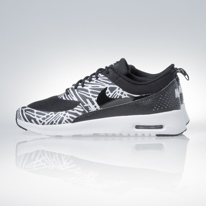 cheaper dca6e 25575 ... Sneakers buty Nike WMNS Air Max Thea Print black  white  metalic  silver (599408 ...