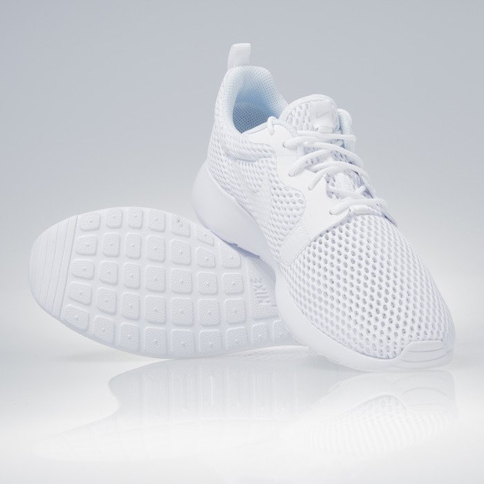 d1cf89282f0 ... Sneakers buty Nike WMNS Roshe One Hyp BR white   white-pure platinum  (883826 ...