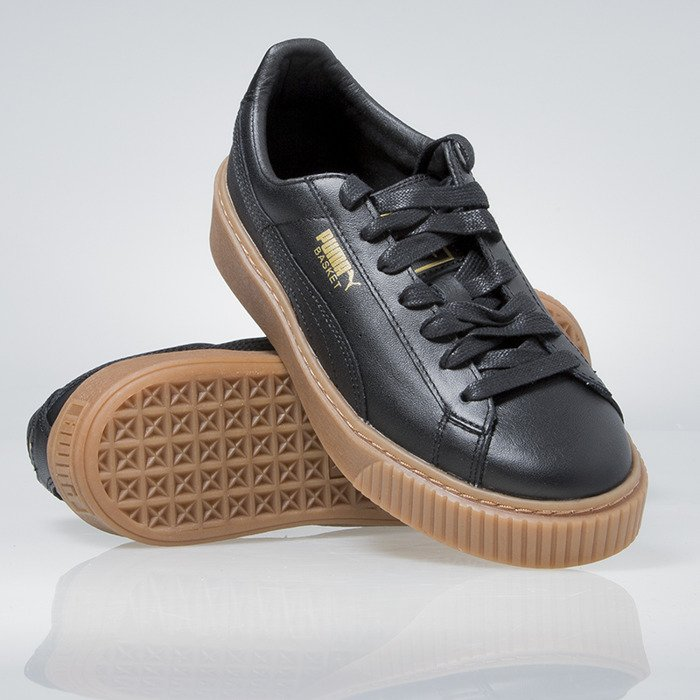 Puma Basket Platform Core W 002 czarne | Buty, Sneakers i Obuwie