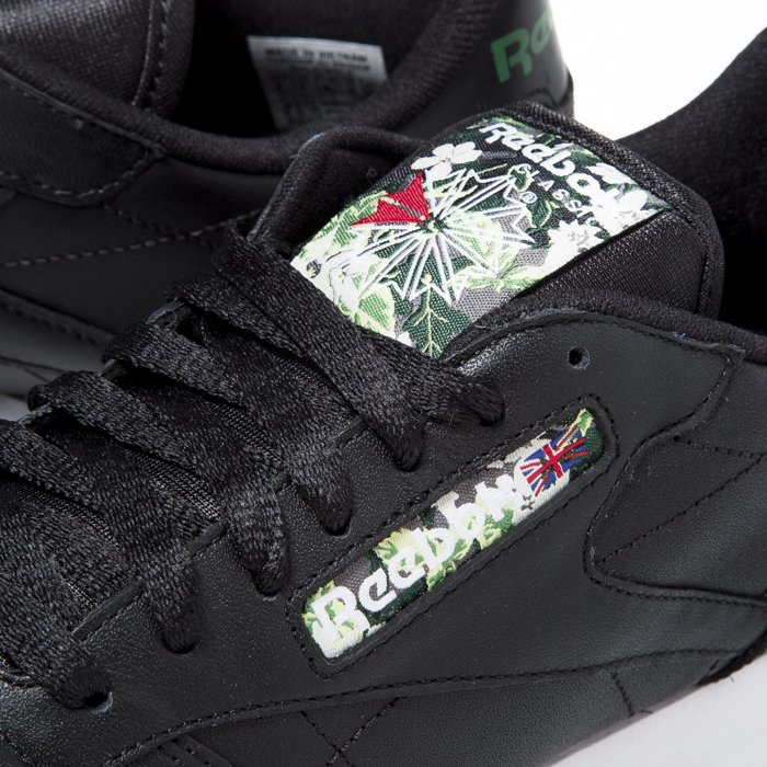 Sneakers buty Reebok Classic Leather Black White Ice