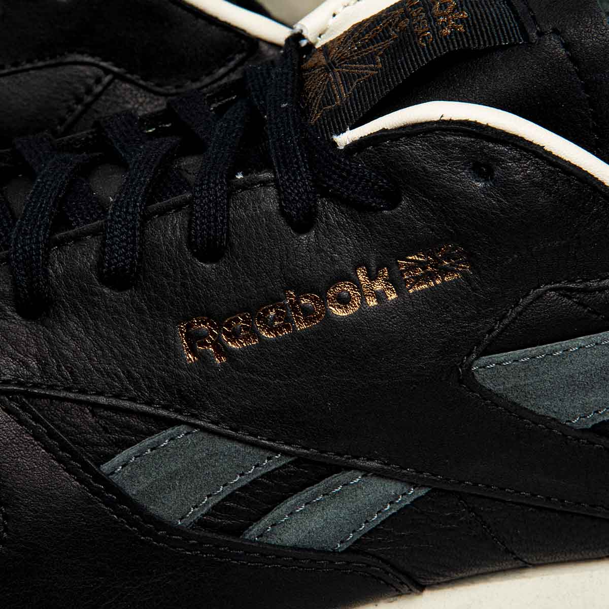 987cac01f32 ... Sneakers buty Reebok Classic Leather LS black   burnt sienna   ashgrey  BS5079 ...