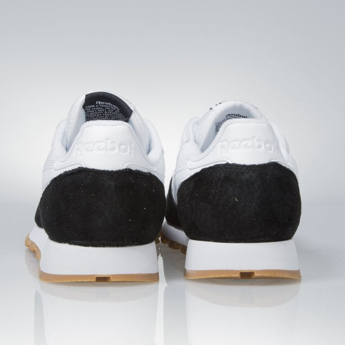 ... Sneakers buty Reebok Classic Leather SPP Perfect Split Kendrick Lamar white  black - gum (AR1894 ... 1420cd3ac06b1