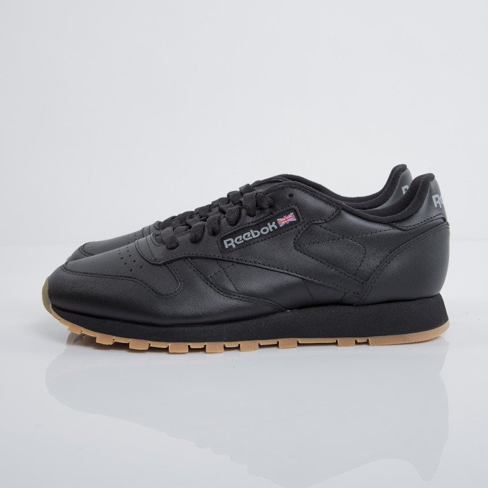 Sneakers buty Reebok Classic Leather black gum (49800)