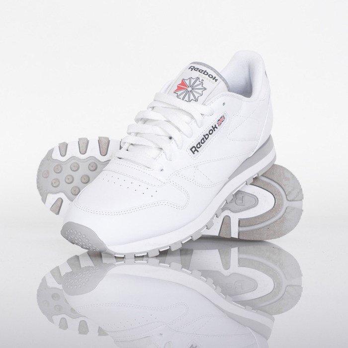 Sneakers buty Reebok Classic Leather white (2214)   Bludshop.com 292cec05320