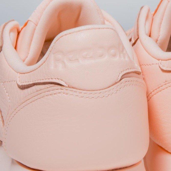 Sneakers buty Reebok Classic WMNS Leather L grit peach twist sleek met BS7912