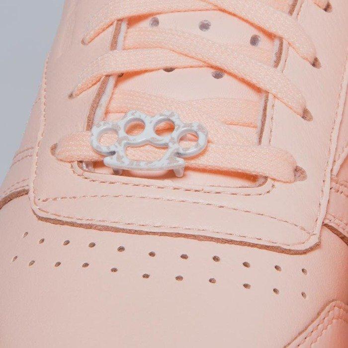 f0300a2949d ... Sneakers buty Reebok Classic WMNS Leather L grit - peach twist   sleek  met BS7912 ...