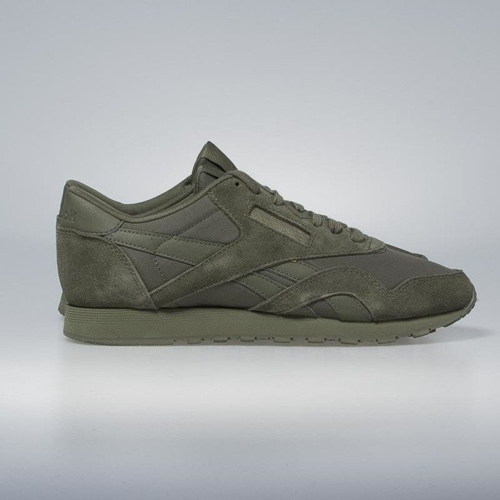 64f9442d53152a Sneakers buty Reebok Classic WMNS Nylon hunter green   hunter green BS7759  ...