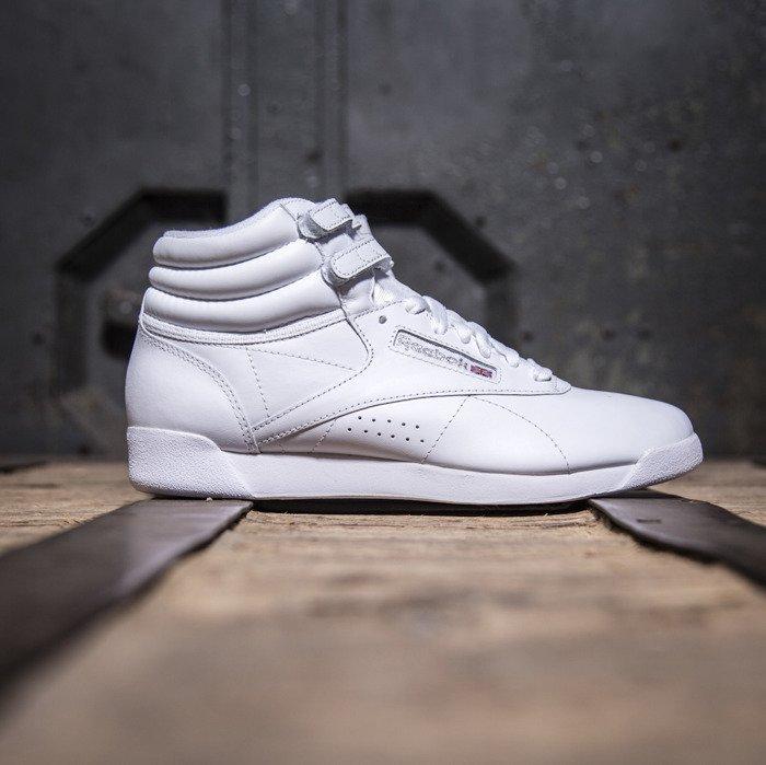 Sneakers buty Reebok F S HI white   silver (2431) ... c9cd8a932