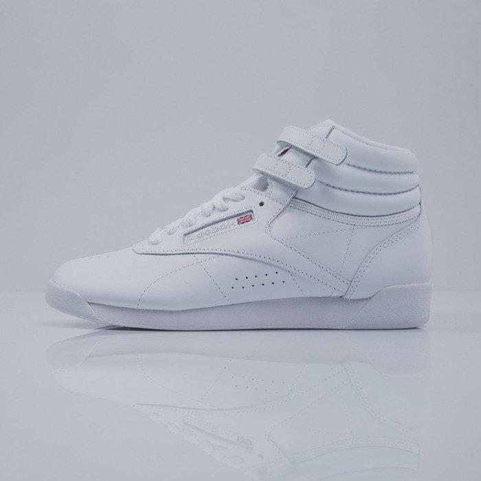 b9077e6e0c ... Sneakers buty Reebok F S HI white   silver (2431) ...