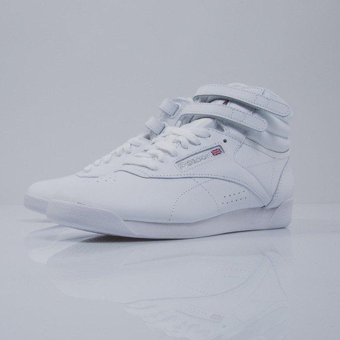 Sneakers buty Reebok FS HI white silver (2431)