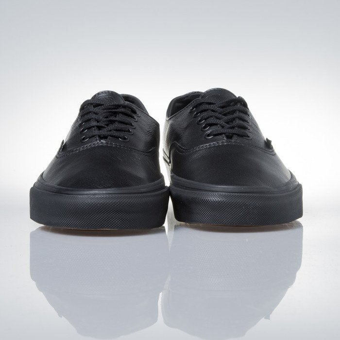 19191961a9f ... Sneakers buty Vans Authentic Decon (Premium Leather) black   black  (VN-0 ...