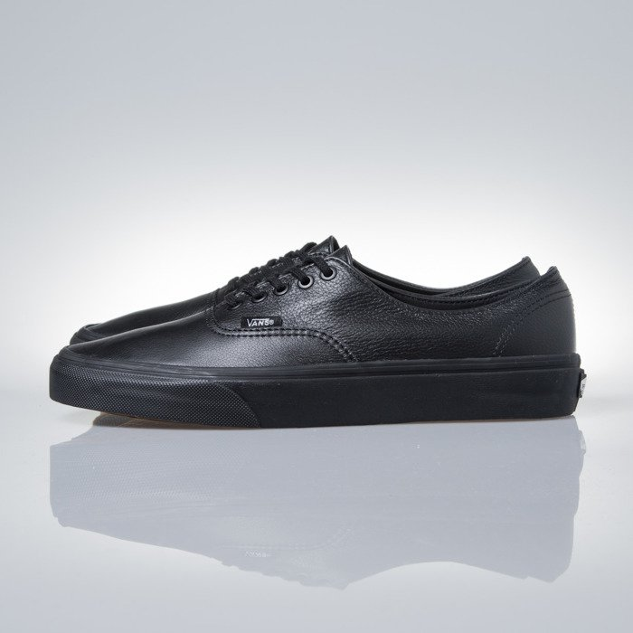 Sneakers buty Vans Authentic Decon (Premium Leather) black black (VN 0 18CGKM)