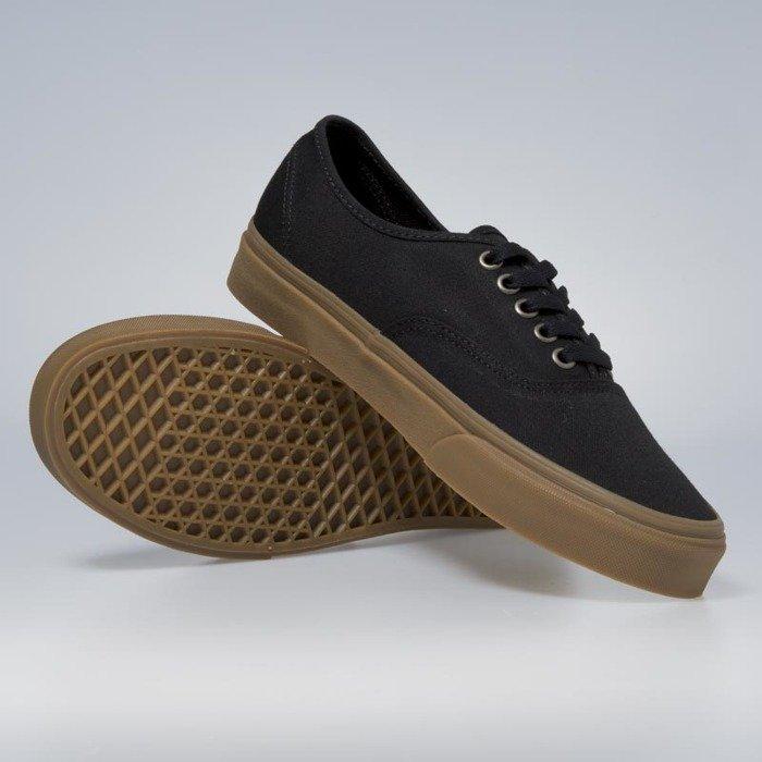 Sneakers buty Vans Authentic (Light Gum) black VN0A38EMLPT