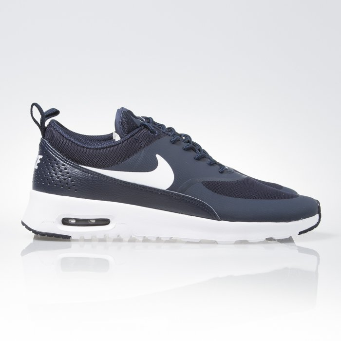 Sneakers buty WMNS Nike Air Max Thea obsidian white (599409 409)