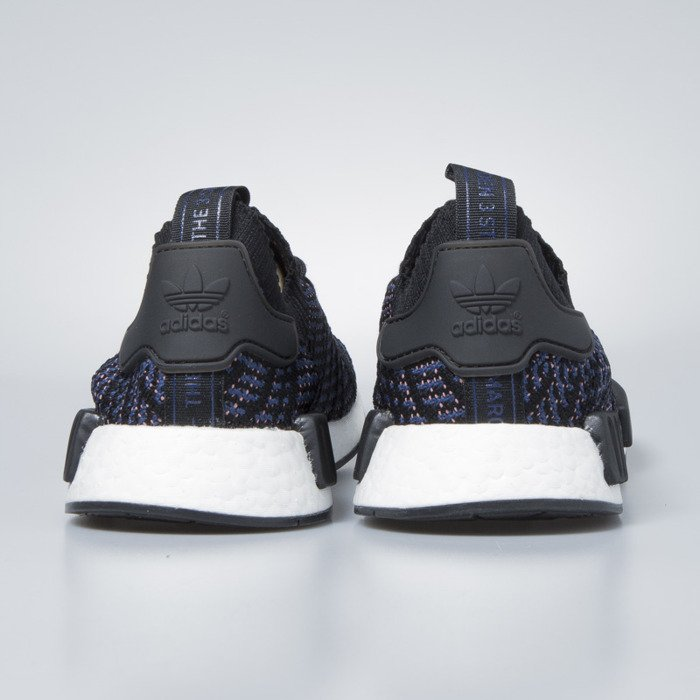 outlet store 7f223 87df2 Sneakers buty damskie Adidas Originals NMD_R1 STLT PK core black / ash pink  / noble indigo AC8326