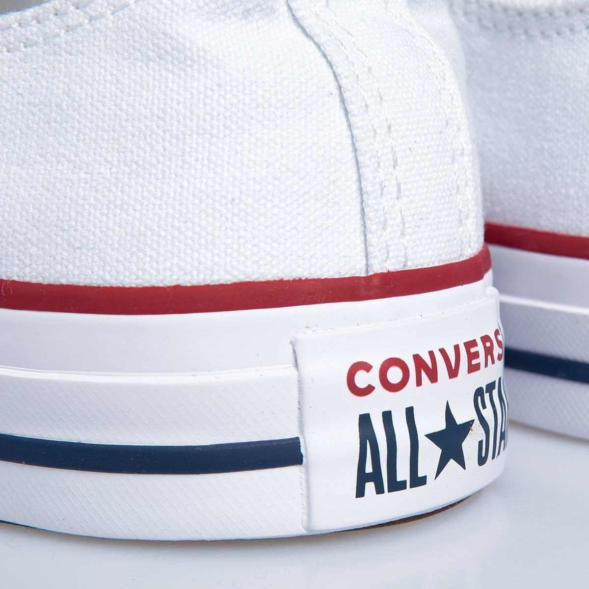 Sneakers buty damskie Converse Chuck Taylor All Star OX białe (M7652C)