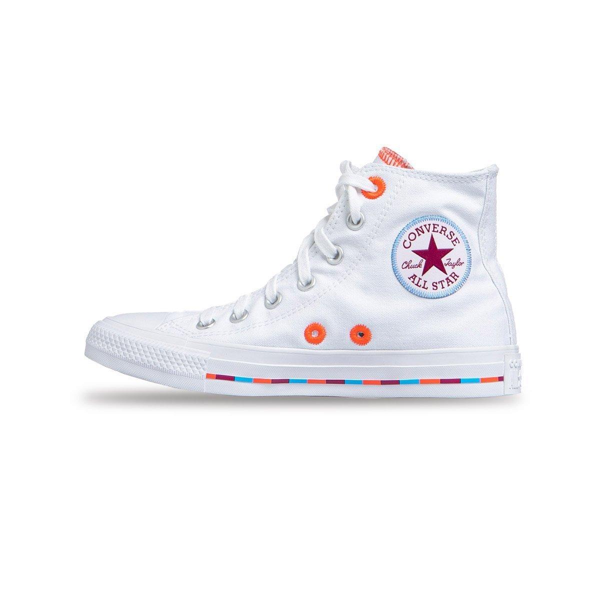 Sneakers buty damskie Converse Chuck Taylor All Star białe (566718C)