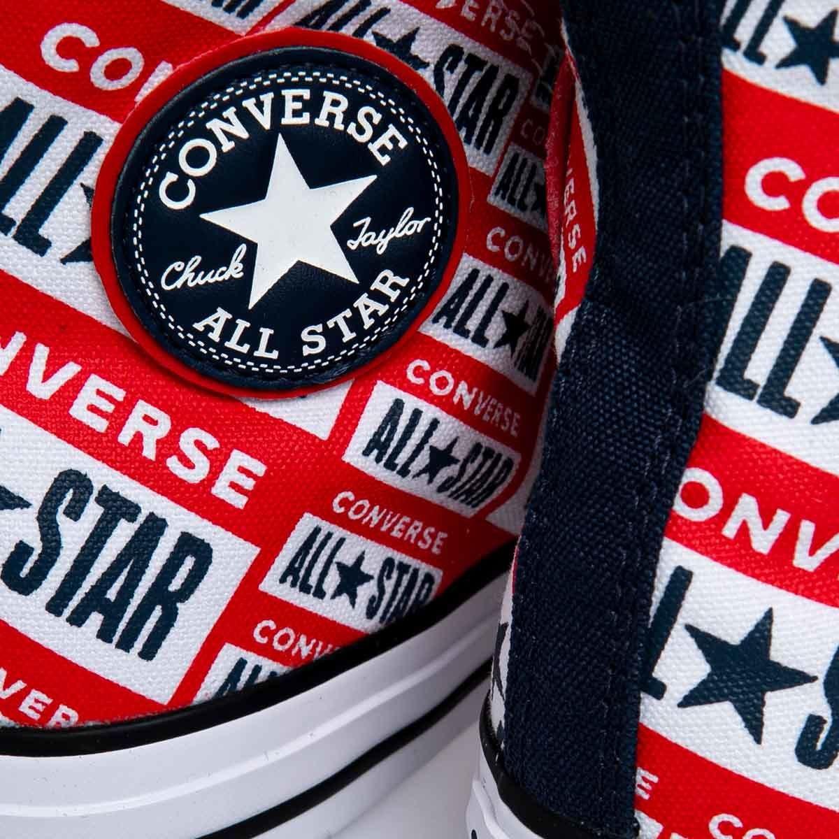 Sneakers buty damskie Converse Chuck Taylor All Star czerwone (166984C)