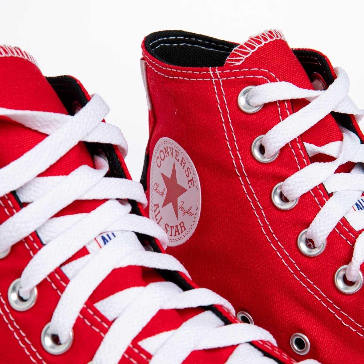 Sneakers buty damskie Converse Chuck Taylor All Star czerwone (167173C)
