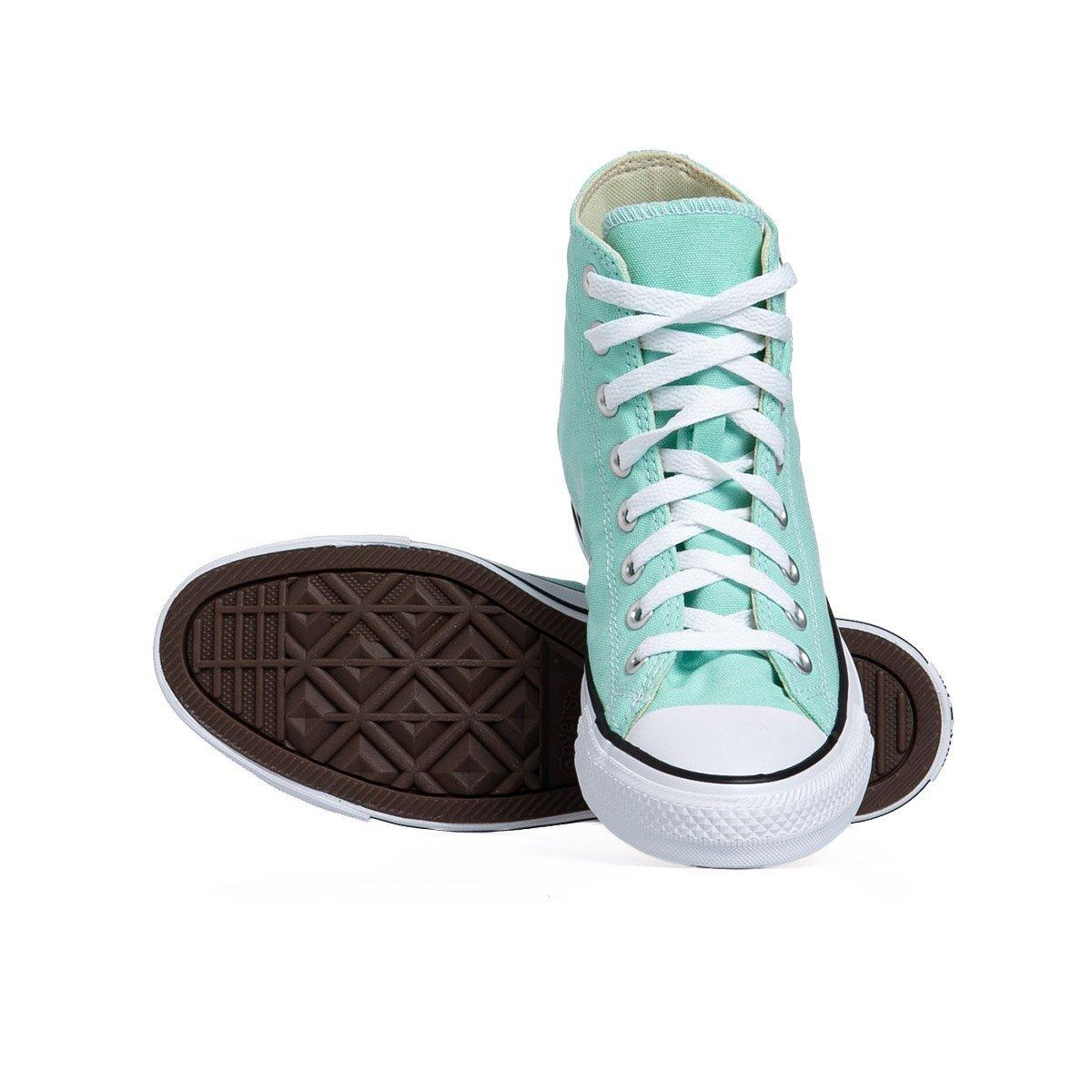 Sneakers buty damskie Converse Chuck Taylor All Star niebieskie (166707C)