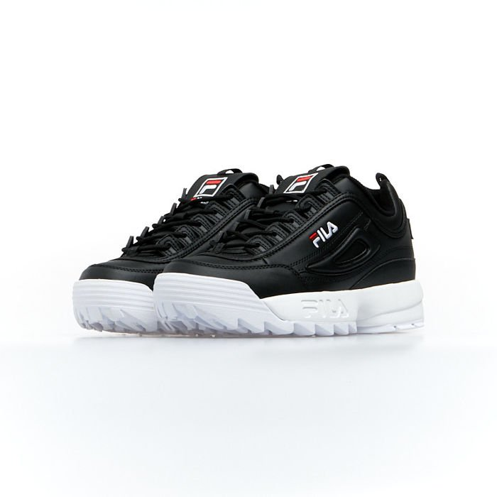 Sneakers buty damskie FILA Disruptor Low WMNS black (1010302.25Y)