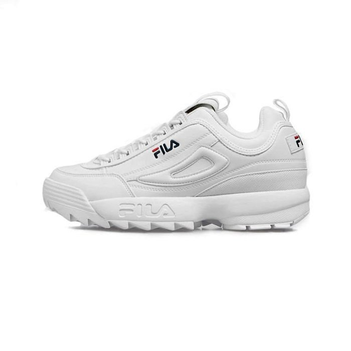 Sneakers buty damskie FILA Disruptor P Low WMNS white (1010746.1FG)