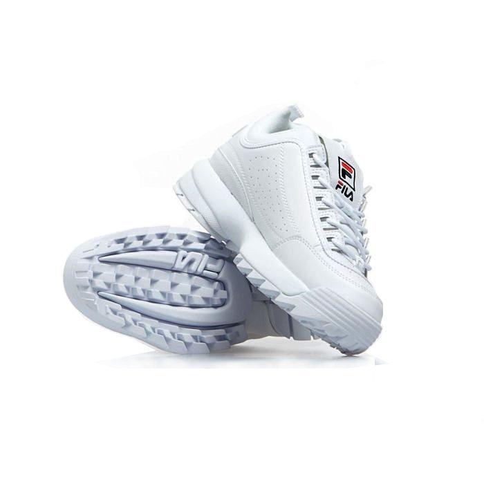 Sneakers buty damskie FILA Disruptor P Low WMNS white (1010746.1FG)