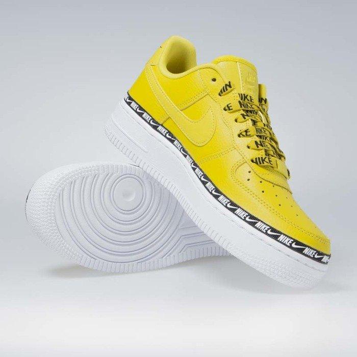 sklep ograniczona guantity najniższa cena Sneakers buty damskie Nike Air Force 1 '07 SE PRM bright citron (AH6827-700)