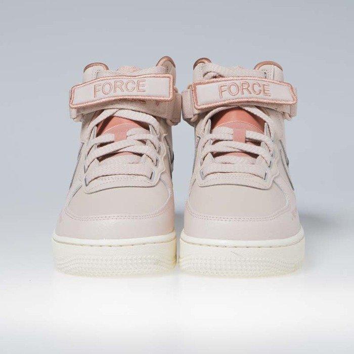 Sneakers buty damskie Nike Air Force 1 High Utility particle beige (AJ7311 200)