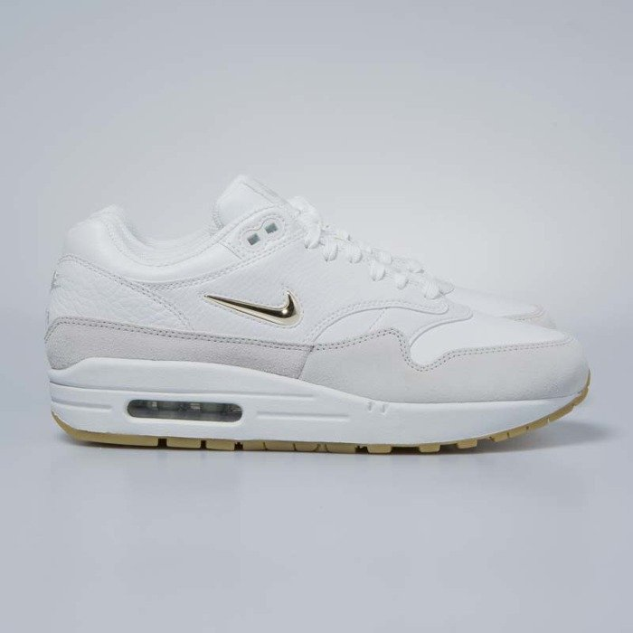 more photos 6a564 03abc Sneakers buty damskie Nike Air Max 1 Premium SC summit white   metallic  gold star AA0512 ...