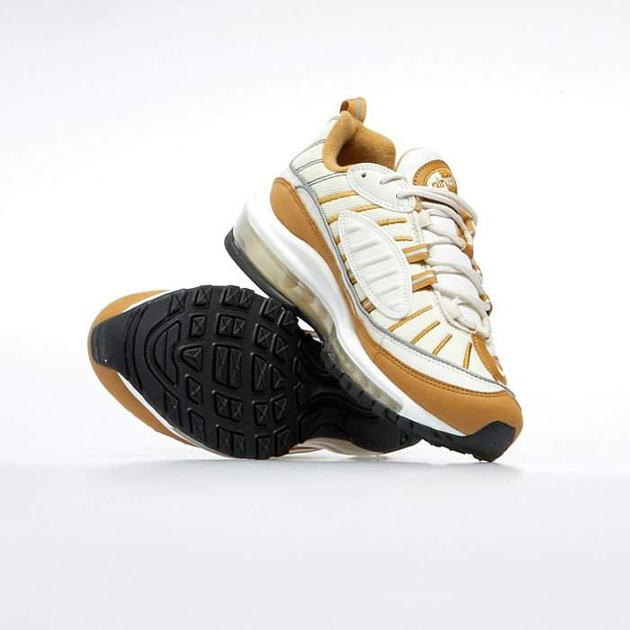 Sneakers buty damskie Nike Air Max 98 phantom beach wheat (AH6799 003)