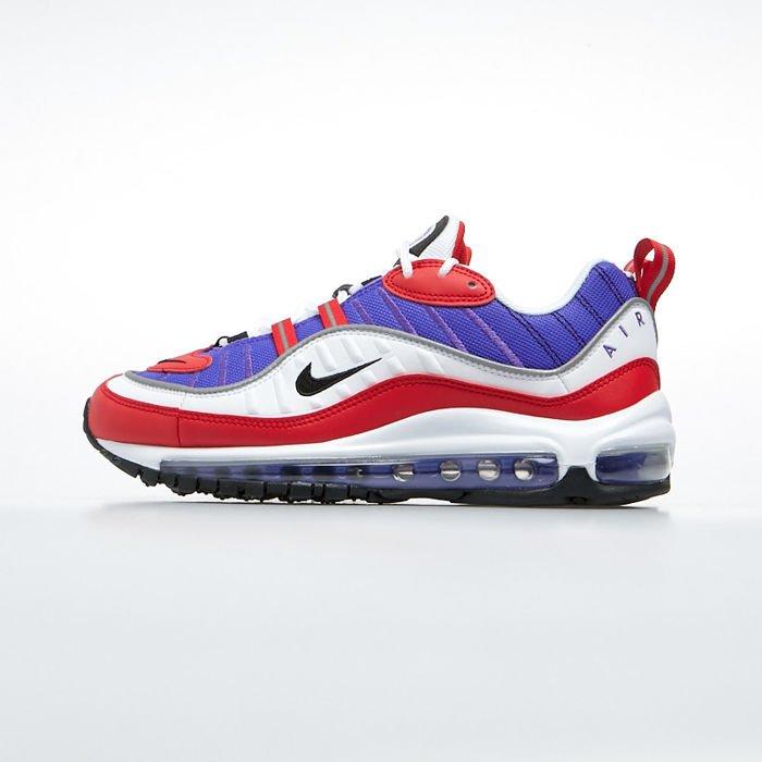 Sneakers buty damskie Nike Air Max 98 psychic purpleblack (AH6799 501)