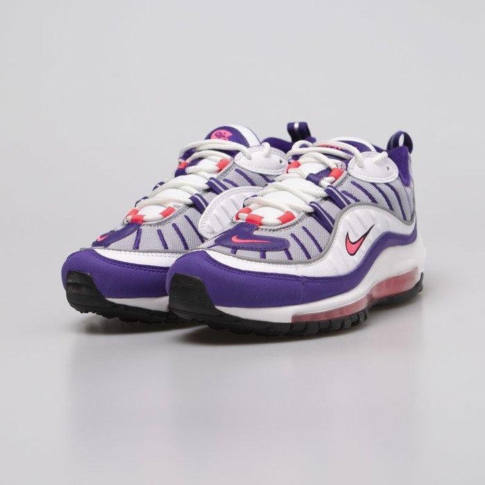 Sneakers buty damskie Nike Air Max 98 white racer pink (AH6799 110)
