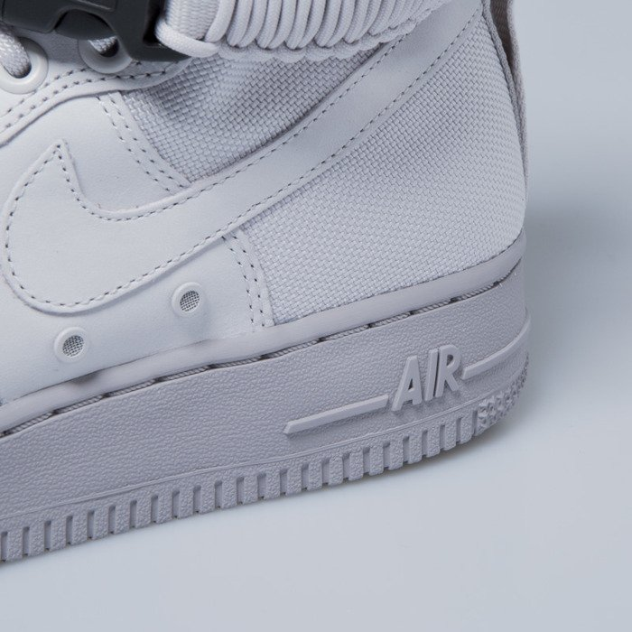 Sneakers buty damskie Nike SF Air Force 1 vast grey vast grey 857872 003