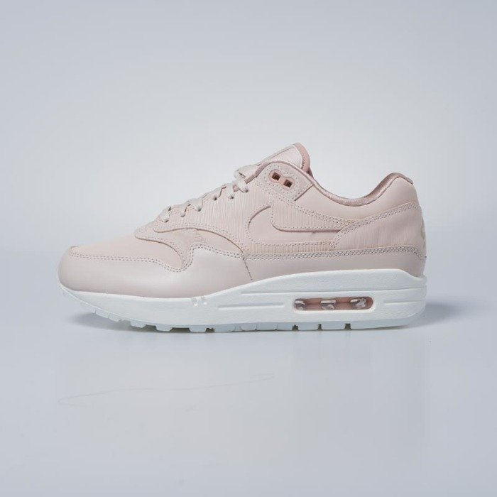 Sneakers buty damskie Nike WMNS Air Max 1 Premium particle beige particle beige 454746 206