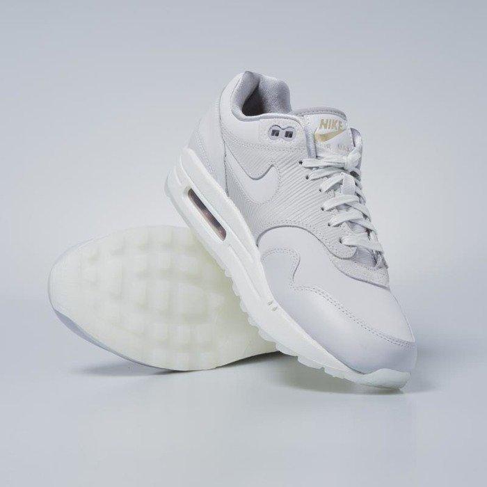 Sneakers buty damskie Nike WMNS Air Max 1 Premium vast grey vast grey 454746 017