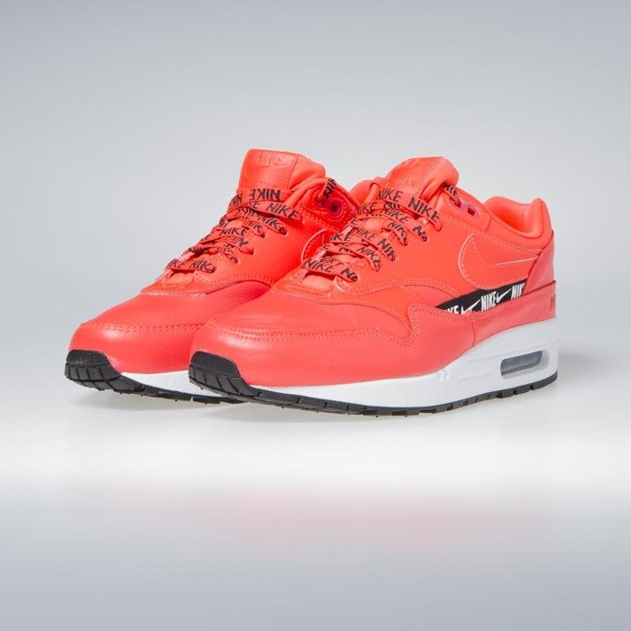 Sneakers buty damskie Nike WMNS Air Max 1 SE bright crimson