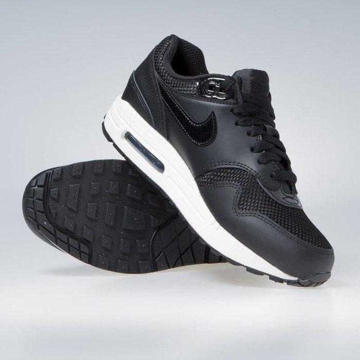 Sneakers buty damskie Nike WMNS Air Max 1 black black black summit white (319986 039)