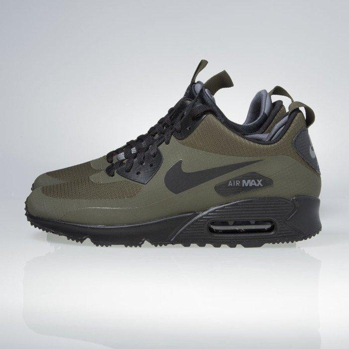 Nike Air Max 90 Mid Sneakerboot – Dark LodenBlack Dark Grey