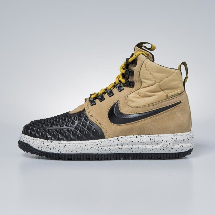 factory price 8fa00 e6af4 ... Sneakers buty zimowe Nike Lunar Force 1 Duckboot  17 metallic gold    black - light ...