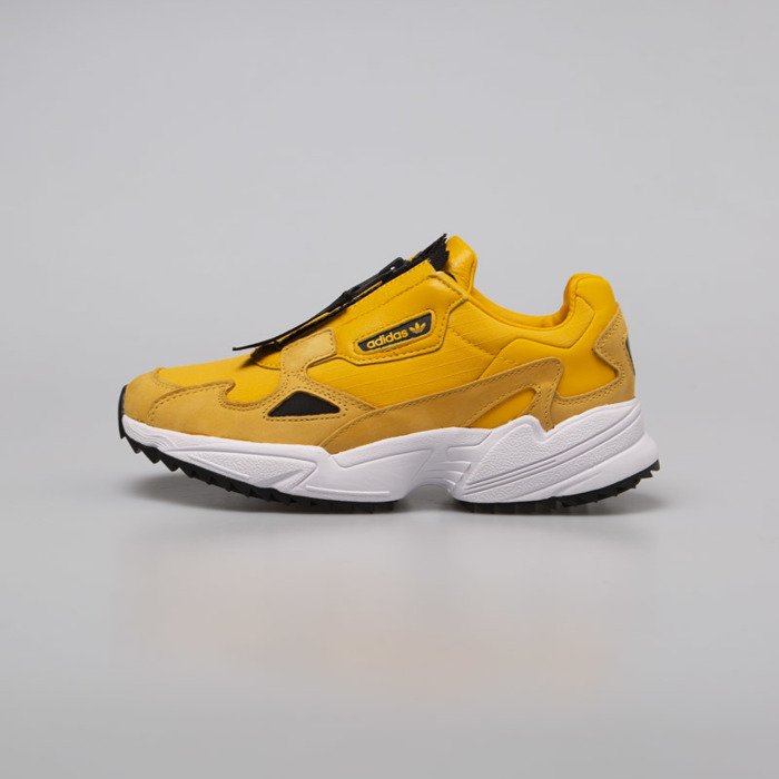 sprawdzić dobra obsługa klasyczne buty Sneakers damskie buty Adidas Originals Falcon ZIP W actgol / cblack /  ftwwht (EE5113)