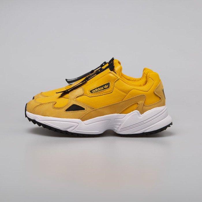 ADIDAS FALCON ZIP W EE5113 | kolor ŻÓŁTY | Damskie Sneakersy