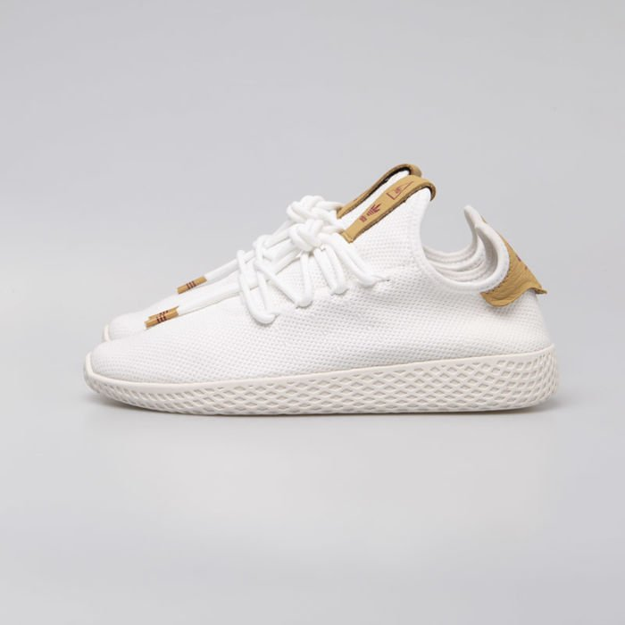 Sneakers damskie buty Adidas Originals Pharrell Williams Tennis Hu ftwwhtftwwhtrawsan (D96444)