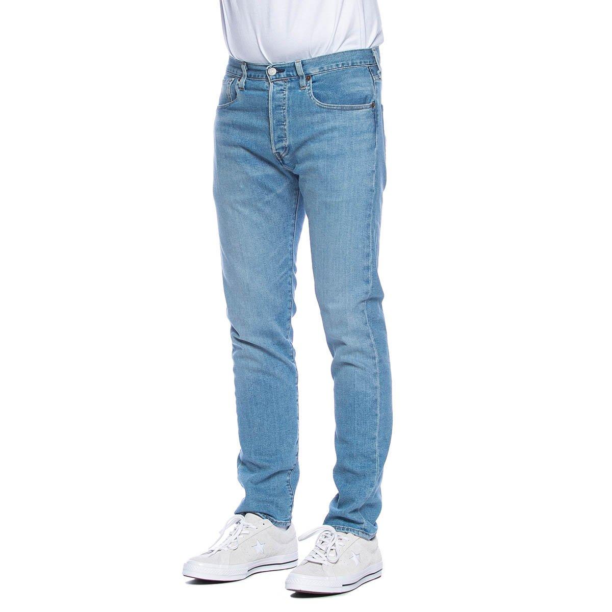 Spodnie Levi's 501 Jeans Slim Taper Coneflower niebieskie